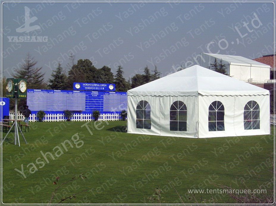 High Peak Marquee Gazebo Tent Shelter , Enclosed Canopy Tent 80 KM / H Wind Load
